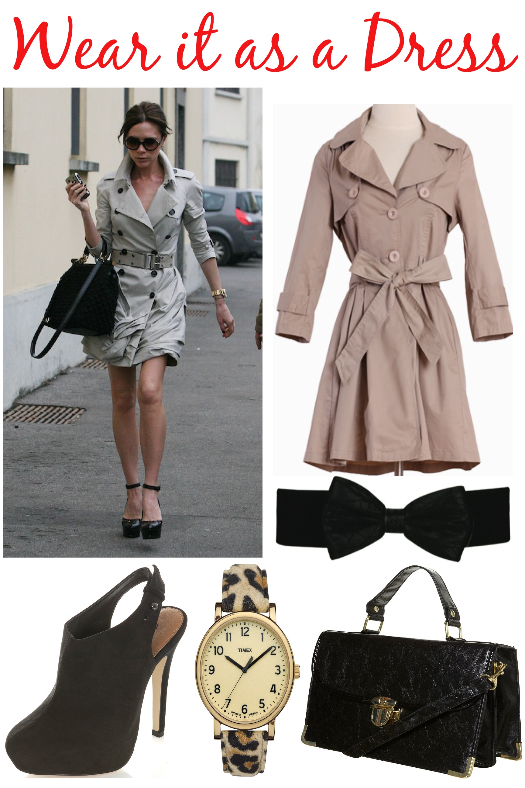 how to wear a trench coat | Fashion Without Borders