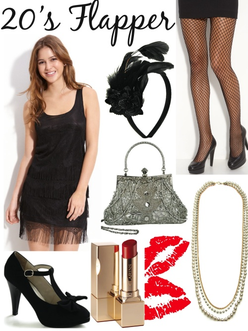 Flapper Girl Halloween Costume Diy Diy Halloween Costumes The