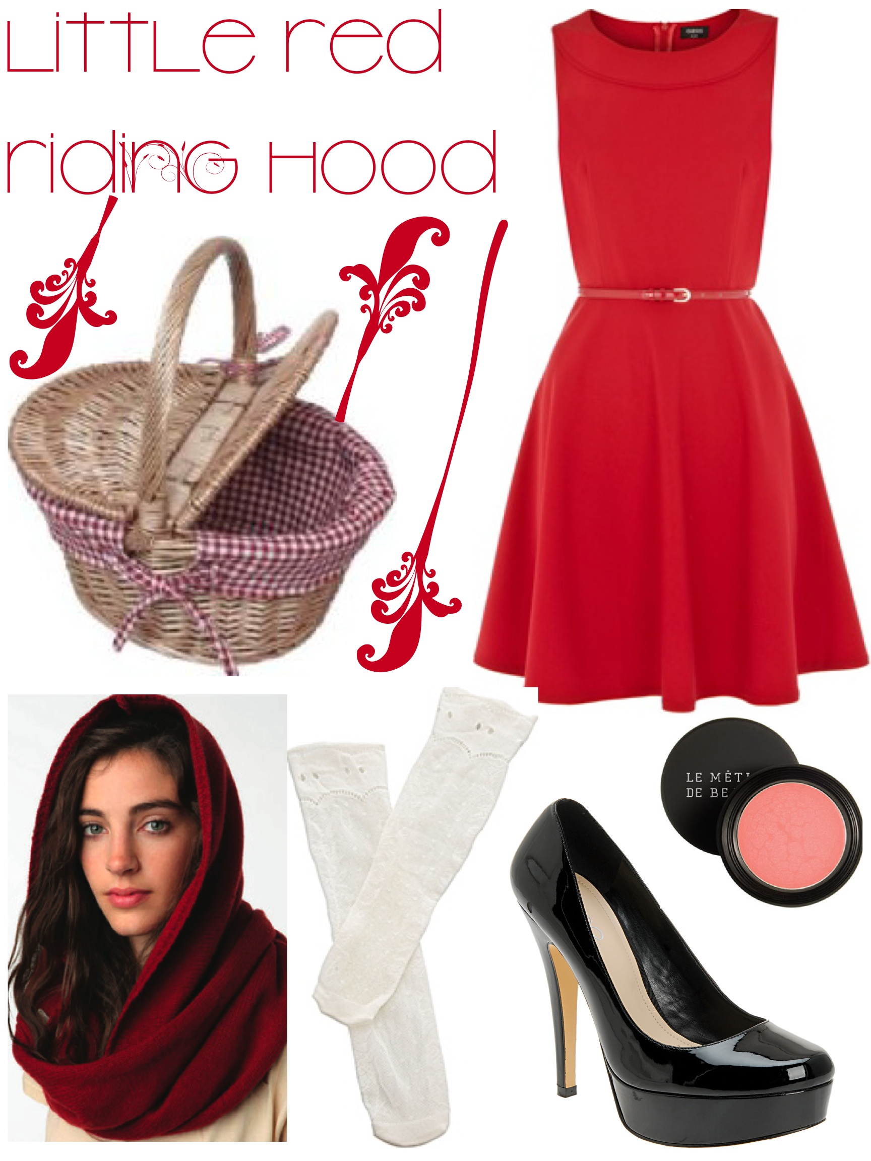 Little Red Riding Hood Costume Fashion Without Borders