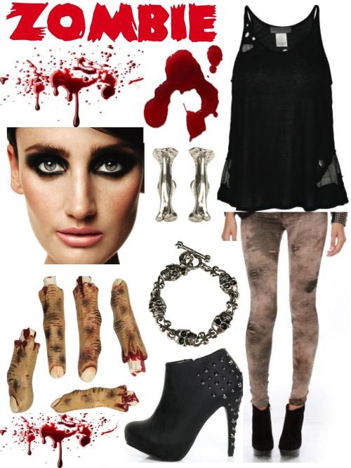 fake blood - Scary Diy Halloween Costumes